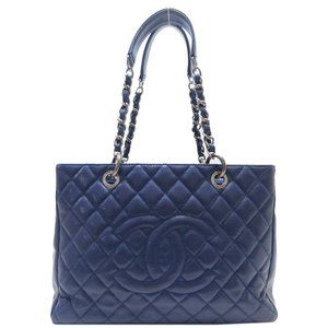Authentic Chanel GST Blue